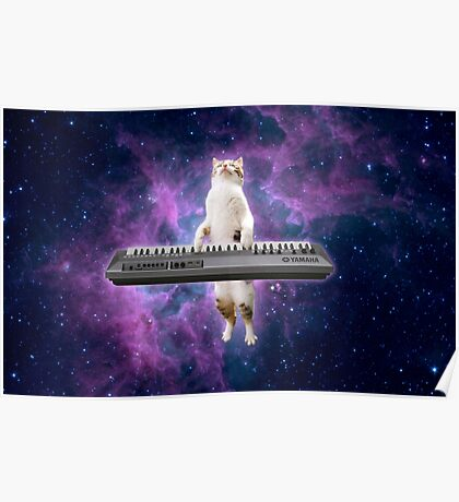 Keyboard Kitty Poster