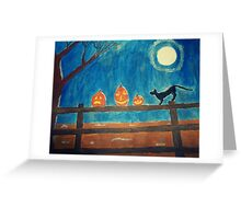 Night of Frights Greeting Card