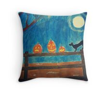 Night of Frights Throw Pillow