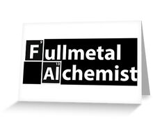 fullmetal Greeting Card