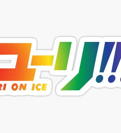Yuri on Ice Rainbow  Sticker