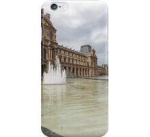 Louvre & Louvre Pyramid, Paris iPhone Case/Skin