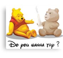 Do you wanna try? @Winnie @Ted Metal Print
