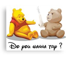 Do you wanna try? @Winnie @Ted Canvas Print