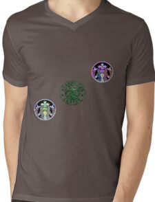 Tie Dye Cute Starbucks Pack Mens V-Neck T-Shirt