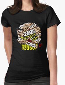 The Mummy Sugar Skull Womens Fitted T-Shirt