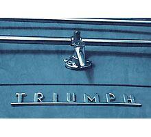 Triumph TR3 Photographic Print