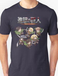 Shingeki no Chibi Unisex T-Shirt