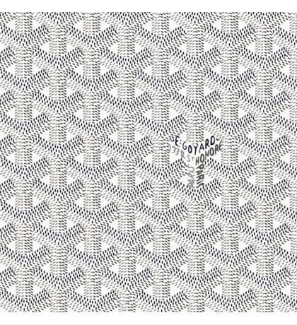 Goyard White Sticker