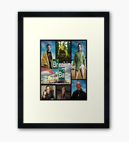 Breaking Bad GTA Style  Framed Print