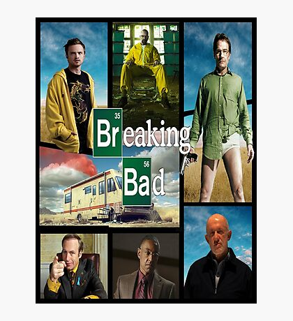 Breaking Bad GTA Style  Photographic Print