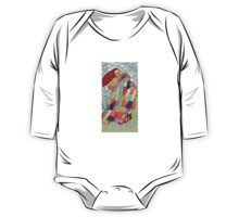 Quilted Like Klimt One Piece - Long Sleeve