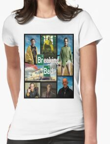 Breaking Bad GTA Style  Womens Fitted T-Shirt