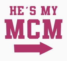 He's My MCM / She's My WCW Best Friends Shirts, Couples Shirts, Matching, BFF, Besties, Selfie Shirts by Tradecraft Apparel