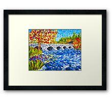 Pakenham Bridge Framed Print