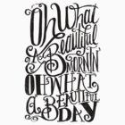 Oh What A Beautiful Day by Matthew Taylor Wilson