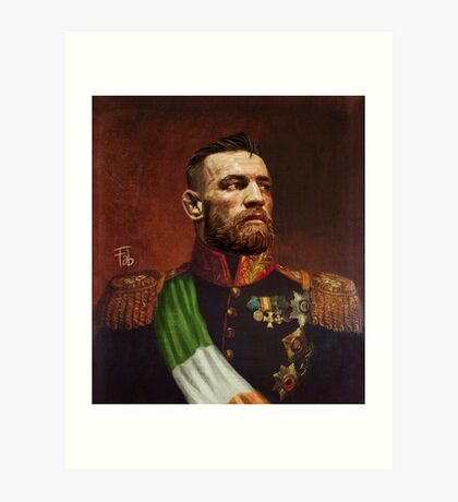 Conor McGregor - Protector of the Land Art Print