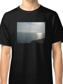 KING ARTHUR'S VIEW TINTAGEL CASTLE CORNWALL Classic T-Shirt