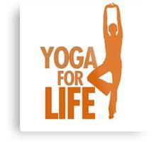 Yoga for life Metal Print