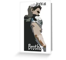 Redfield-Brother Greeting Card