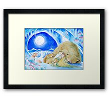 Winter Night Framed Print
