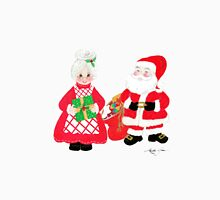 Mr. and Mrs. Santa Claus Unisex T-Shirt