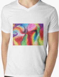 """""""Bridge to Nowhere"""" original artwork by Laura Tozer Mens V-Neck T-Shirt"""