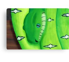 Taking the Hiss Canvas Print
