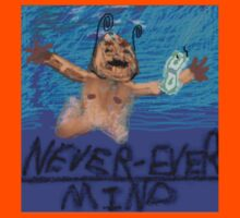 Nirvana Nevermind Cover Kids Clothes