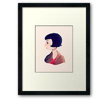 Amelie Framed Print