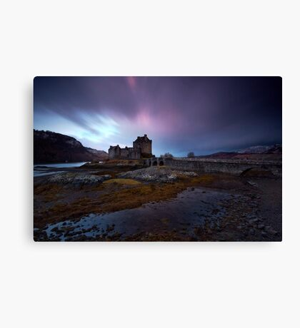 Highland Dawn Canvas Print