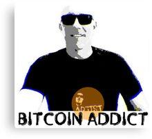 West Stand Jim - Bitcoin Addict Canvas Print