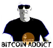West Stand Jim - Bitcoin Addict Photographic Print