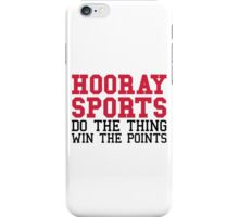 Hooray Sports iPhone Case/Skin