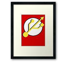 Flash 2.0 Framed Print