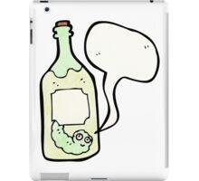 cartoon tequila bottle iPad Case/Skin
