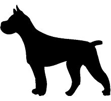 Pit Bull Silhouette by kwg2200