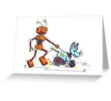 Walkies Greeting Card