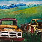 Rons Trucks visit the Yukon  by carolyndoe