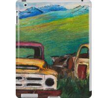 Rons Trucks visit the Yukon  iPad Case/Skin