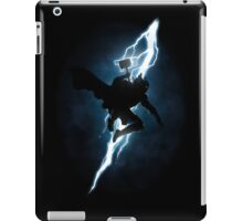 The Thunder God Returns iPad Case/Skin