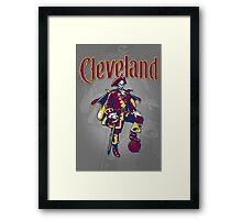 Captain Cleveland Framed Print