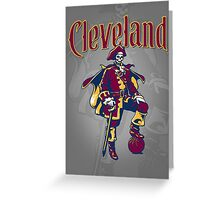 Captain Cleveland Greeting Card