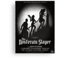 The Nosferatu Slayer Canvas Print