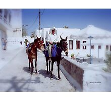 Days gone by in Greece Photographic Print