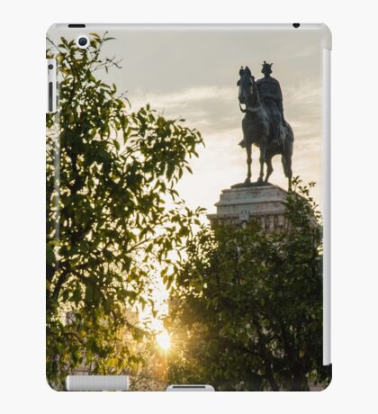 Seville architecture of Plaza Nueva  iPad Case/Skin