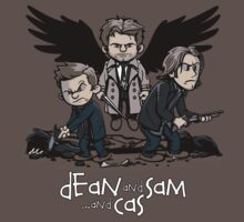 Dean and Sam and Cas by davidj8580