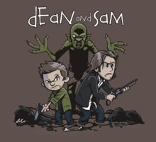 Dean and Sam by davidj8580