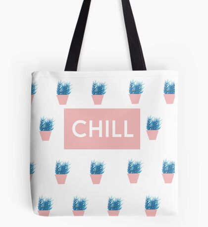 Chill Pink Tote Bag