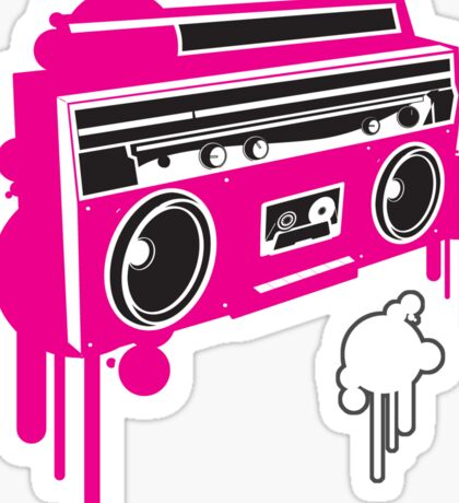 80's - Radio Sticker